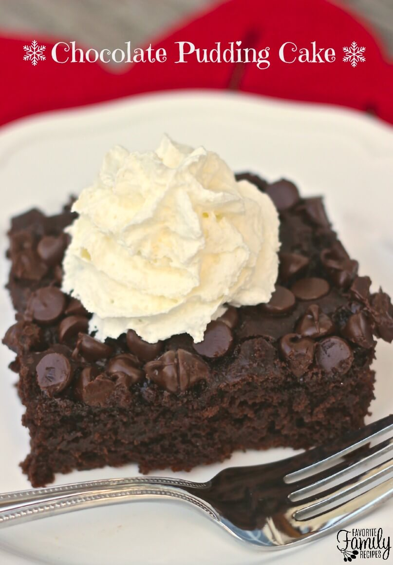 This Chocolate Pudding Cake is probably the easiest chocolate cake ...