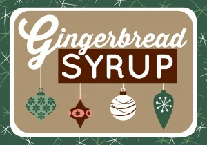 Gingerbread Syrup 2