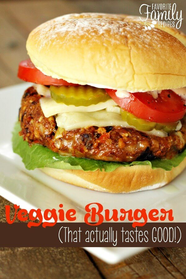 Veggie Burger (That actually tastes GOOD)