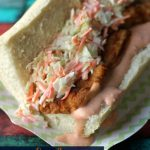 Cajun Fried Chicken Po Boys with Spicy Remoulade Sauce