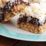 Caribbean Coconut Fudge Bars