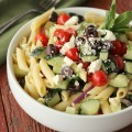 Light Greek Pasta Salad