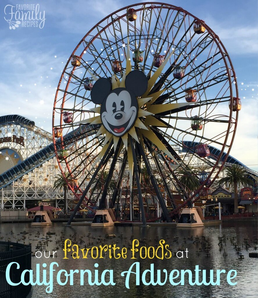 foods at california adventure