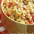 Creamy Bacon Ranch Pasta Salad Recipe