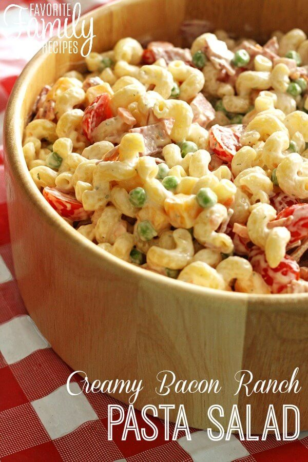 Ranch pasta salad recipes
