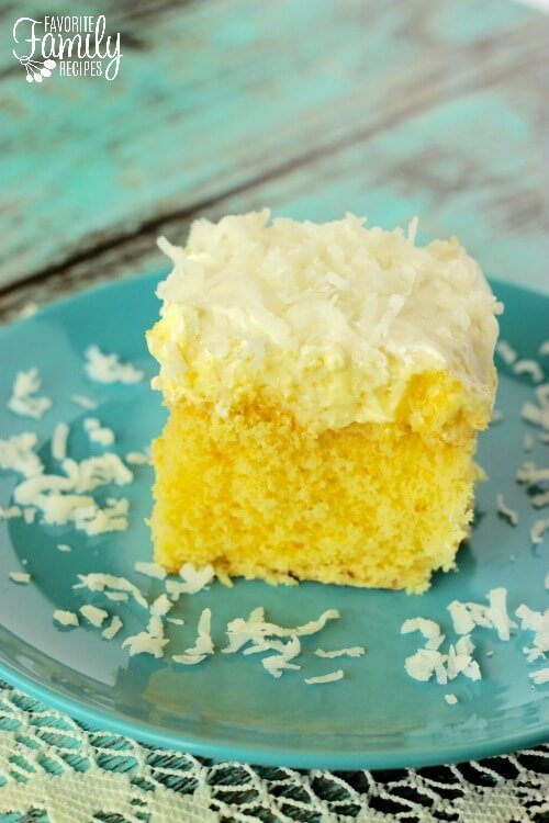 hawaiian wedding cake starts with a simple cake mix add a splash of