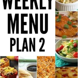 Weekly Menu Plan 2
