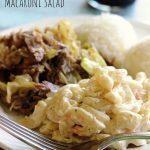 Authentic Hawaiian Macaroni Salad