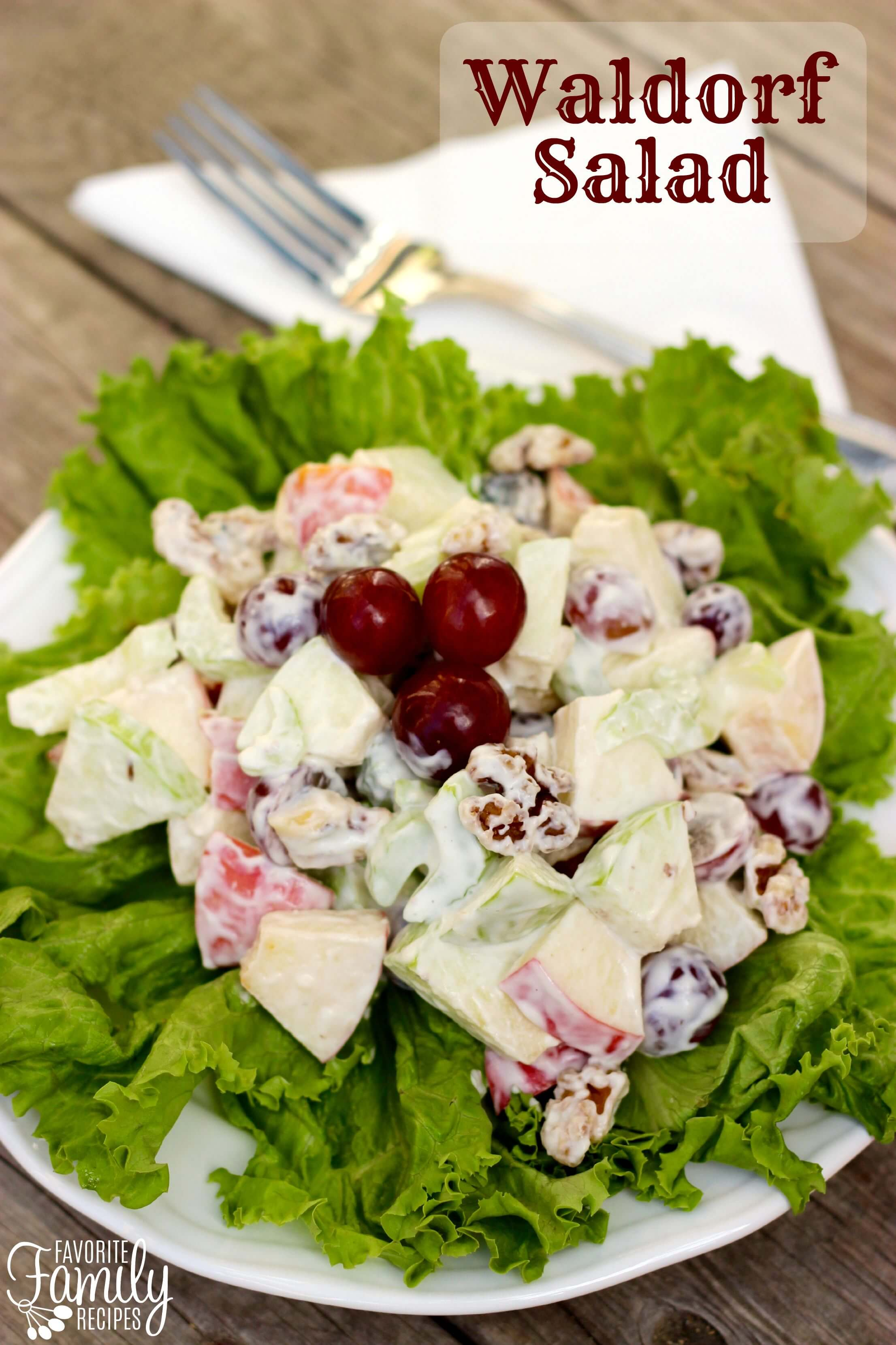 Waldorf Salad | Favorite Family Recipes