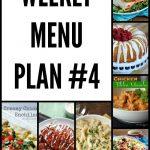 Weekly Menu Plan 4