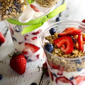 Grab and Go Make Ahead Breakfast Parfaits