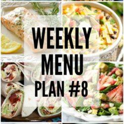Weekly Menu Plan 8