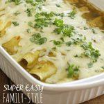 Super Easy Cafe Rio / Costa Vida Pork Burritos – Family Style