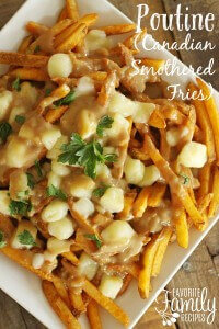 Poutine Canadian Smothered French Fries Recipe