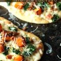 Roasted Butternut Squash Flatbread Pizza