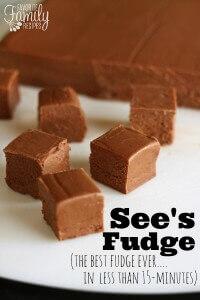 See's Fudge Recipe