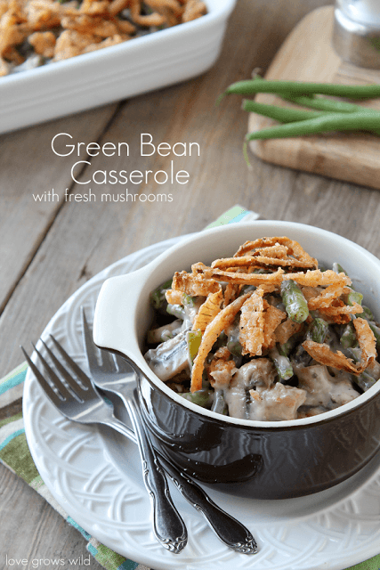 Best-Green-Bean-Casserole-with-Fresh-Mushrooms-final