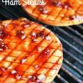 Sweet Teriyaki Grilled Ham Steaks