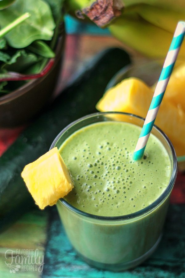 Cool Cucumber Green Smoothie