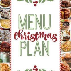Christmas Weekly Menu Plan