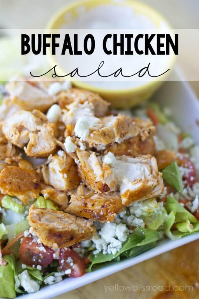 Spicy-Buffalo-Chicken-Salad