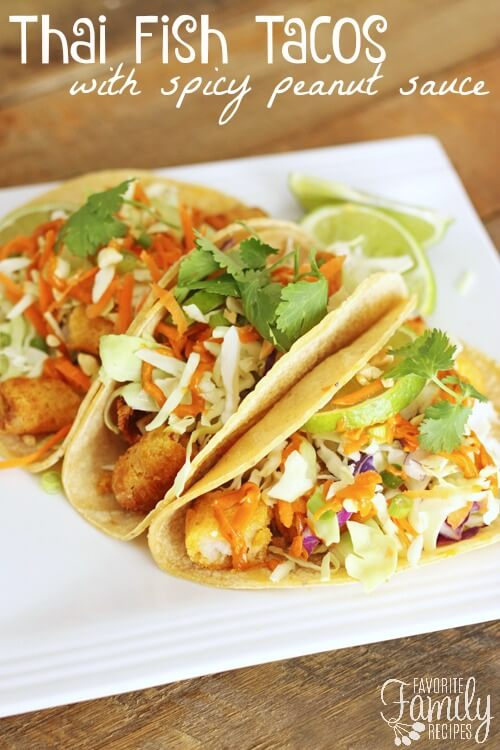 Thai fish tacos favorite family recipes for How to cook fish tacos