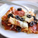 Slow Cooker Pizza Bake