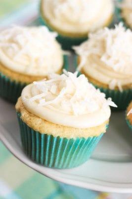 Tasty Coconut Cupcakes Recipe