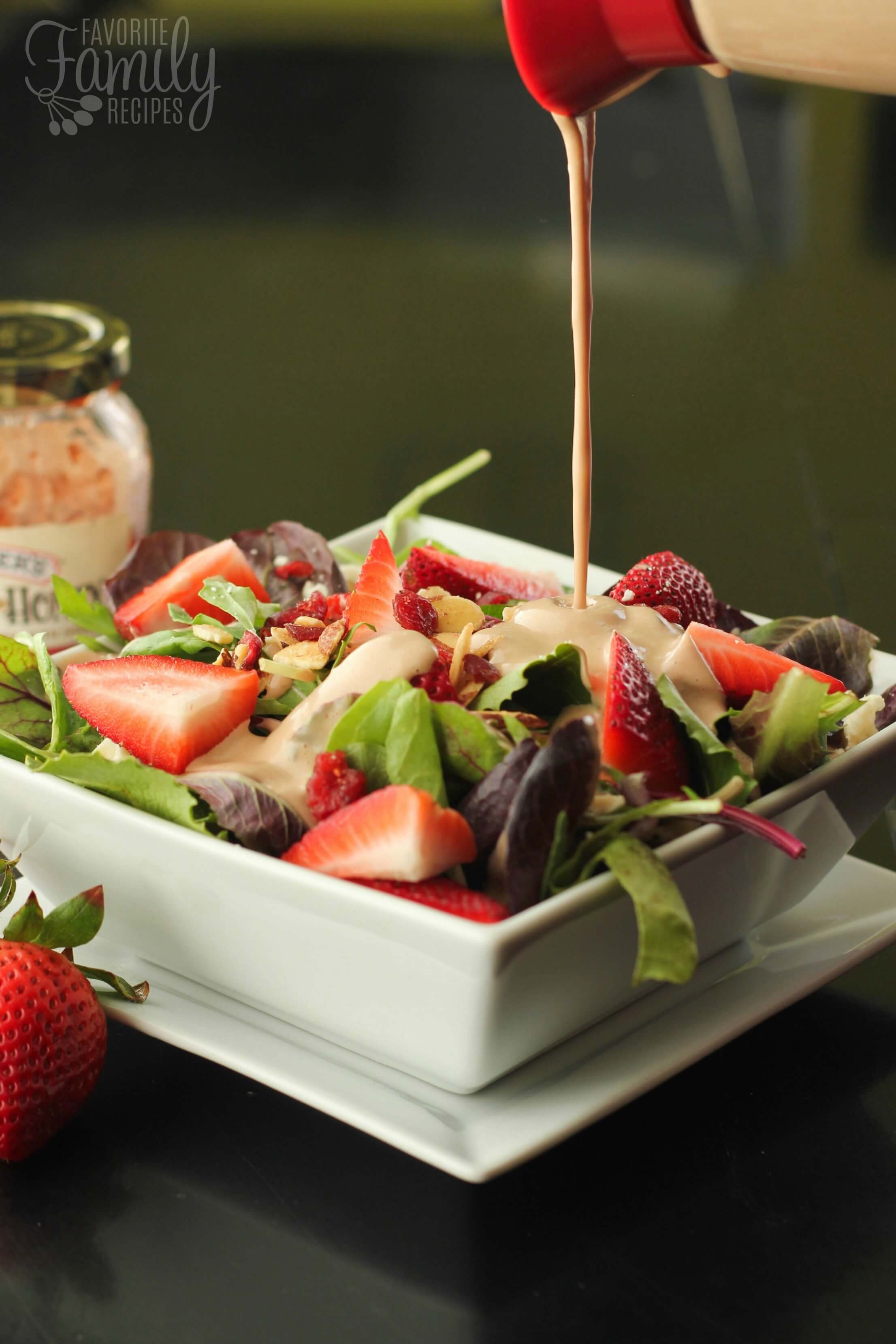 Creamy Strawberry Balsamic Dressing Favorite Family Recipes