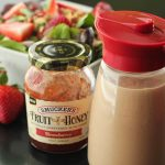 Creamy Strawberry Balsamic Dressing