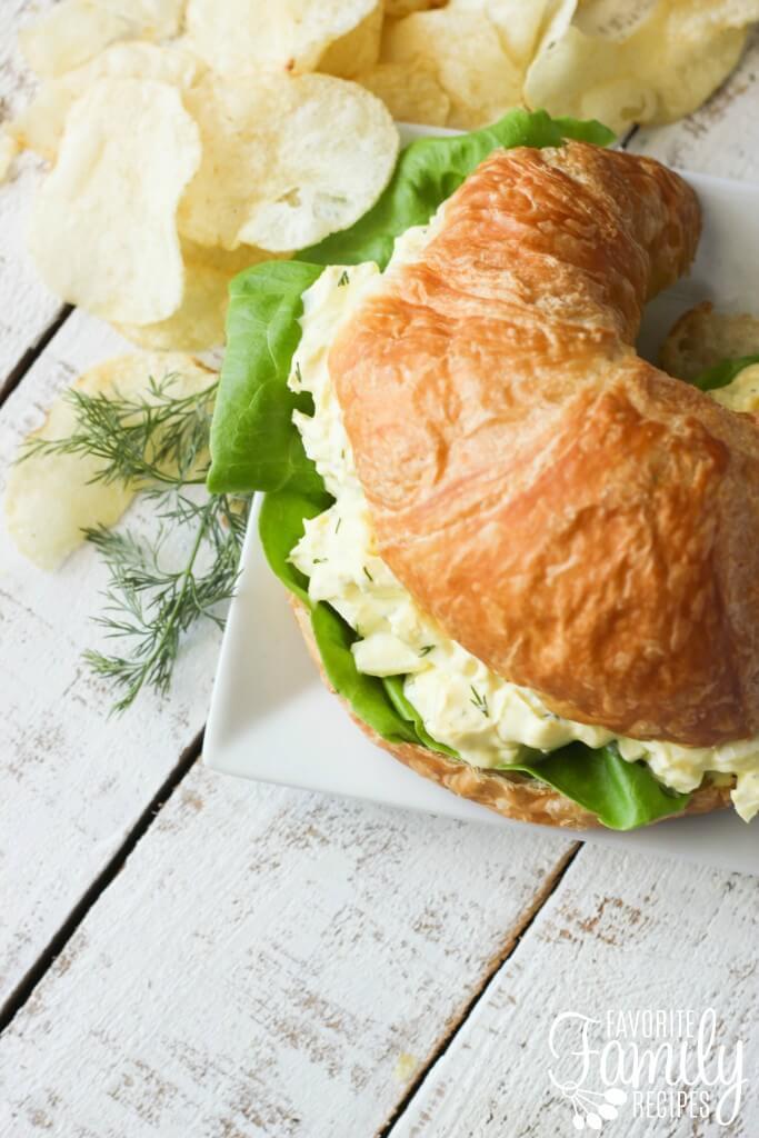 Egg Salad Sandwich from favfamilyrecipes.com