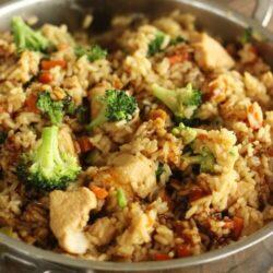 One Pot Chicken Teriyaki Rice Bowls Recipe