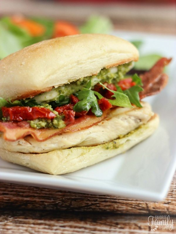Our Version of Cubby's Pikey Chicken Sandwich