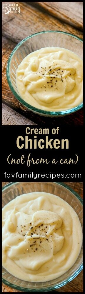Condensed Cream Of Chicken Soup Substitute Favorite Family Recipes