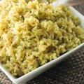 Lemon Pesto Rice Recipe