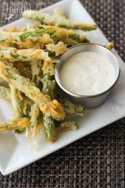 Lightly Fried Green Beans Recipe