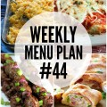 Weekly Menu Plan 44
