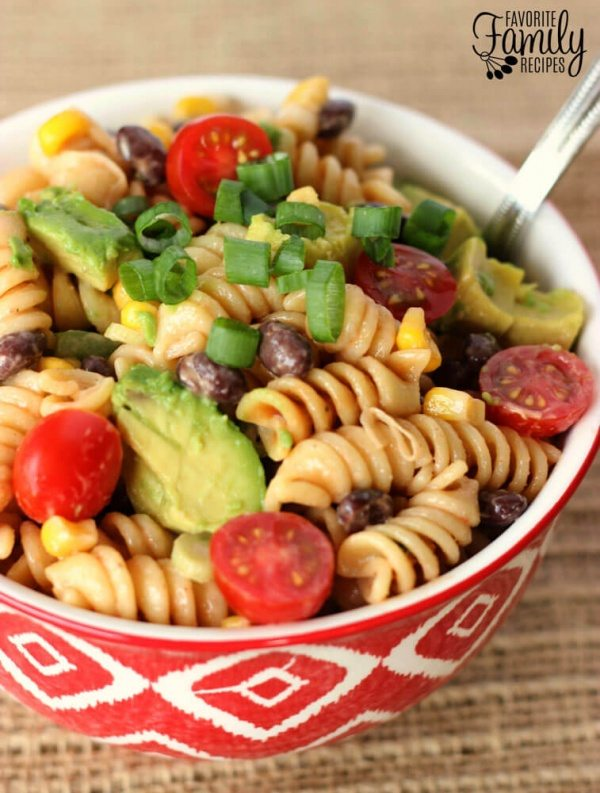 BBQ Ranch Pasta Salad Recipe