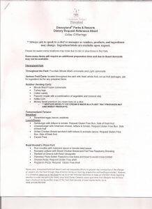 Disneyland gluten free list 1