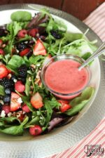 Nuts About Berries Salad like Cafe Zupas
