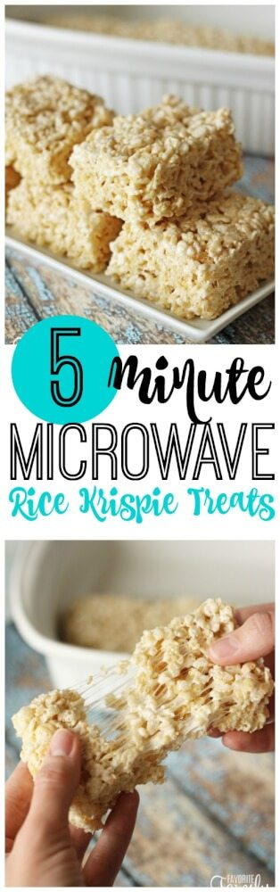 These Microwave Rice Krispie Treats Are Foolproof And Turn Out Perfect Every Time They