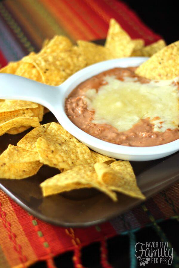 Cheater Restaurant Style Refried Beans Recipe