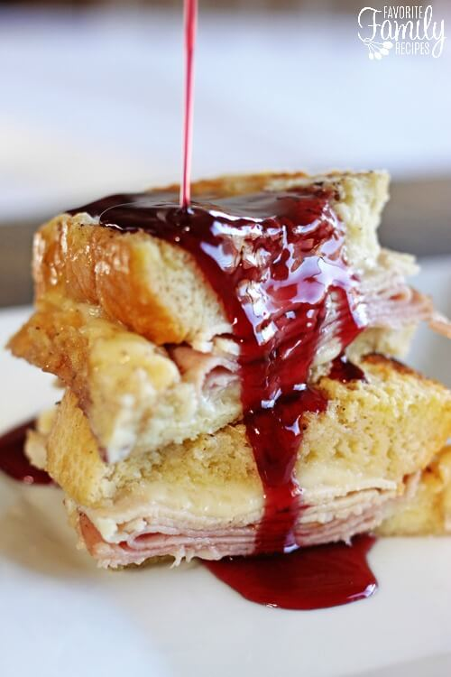 Baked Monte Cristo French Toast