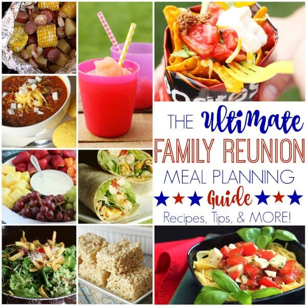 Family Reunion Ideas >> Family Reunion Ideas For Meal Planning Favorite Family Recipes