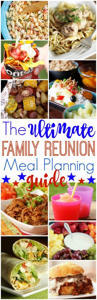 The ultimate family reunion meal planning guide favorite family over 30 tasty crowd pleasing recipes and tips for successful reunion meal planning everything forumfinder Choice Image