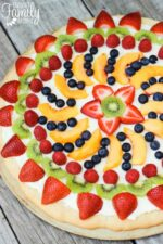 Easy Fruit Pizza Dessert Recipe