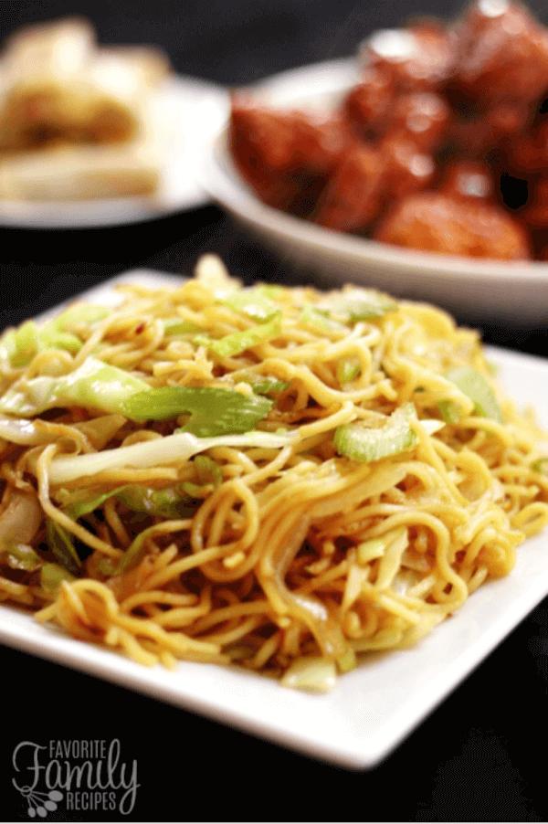 Panda Express Chow Mein Noodles Recipe