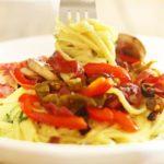 Skinny Creamy Cowboy Spaghetti