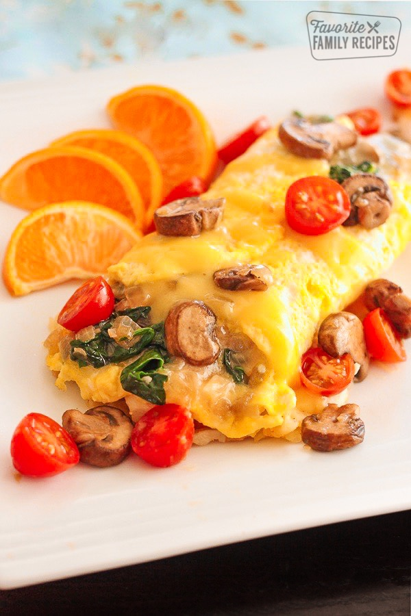Veggie Omelettes With Tips To Make The Perfect Omelet