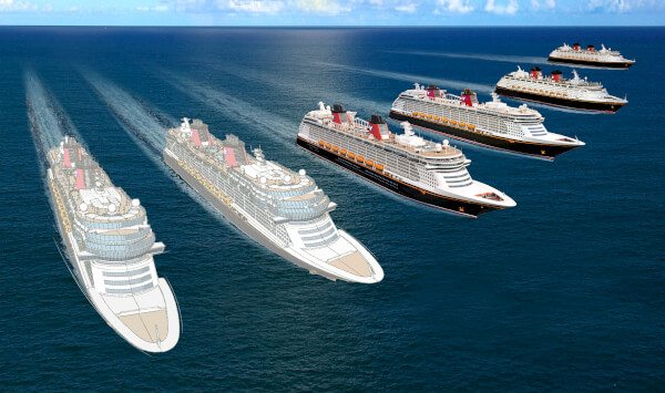 The Walt Disney Company announced plans on March 3, 2016 to build two additional cruise ships. ©Disney